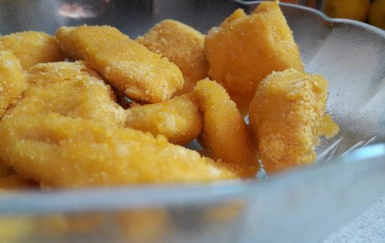 Nuggetsy kukurydziane